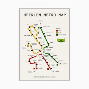 heerlen metro map